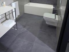 Pavimento/rivestimento in gres porcellanato effetto pietra DEEP GREY - URBATEK - Grès Porcellanato