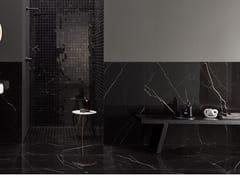 LEA CERAMICHE, DELIGHT - MARQUINA NERO Pavimento/rivestimento in gres porcellanato effetto marmo