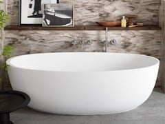 Vasca da bagno in Corian® su misuraDELIGTH - RILUXA