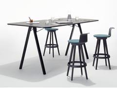 Tavolo da riunione rettangolare in melaminaDELTA BY BENE | Tavolo da riunione - BENE