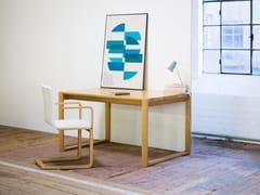 Tavolo rettangolare in legno massello DELTA | Tavolo rettangolare - Delta