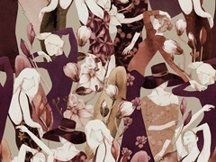 Carta da parati in tessuto non tessuto con motivi florealiDEMETRA - JANNELLI & VOLPI