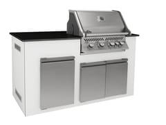 Cucina da esterno a gas con grillDEMI | Cucina da esterno - INDIAN OCEAN