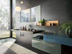 Lavabo con pianoDEPTH WILDWOOD 1114 | Lavabo - LAGO