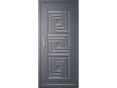 Pannello di rivestimento per porte blindate in alluminioDESIRE - ROYAL PAT