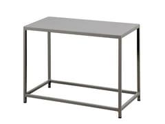 Tavolino da giardino rettangolare in metallo DÉSIRÉE   Tavolino rettangolare - Désirée