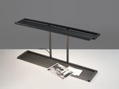 Lampada da scrivania a LED girevole in metalloBLANCOWHITE R1 | Lampada da scrivania - SANTA & COLE NEOSERIES