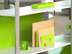 Porta lettere in metallo verniciatoPERFO | Vaschetta portadocumenti - MANADE