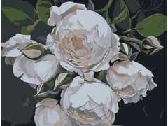 Tappeto a fiori rettangolare in lanaDESPINA - BLOSS
