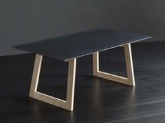 Tavolo da pranzo rettangolare in ferro DETROIT + FLAT - ECOLAB 2