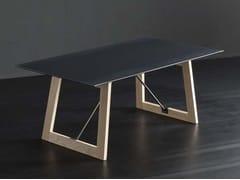 Tavolo da pranzo rettangolare in ferro DETROIT + FLAT/ TIRANTI - ECOLAB 2