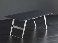 Tavolo da pranzo rettangolare in ferro DETROIT + IRON - ECOLAB 2