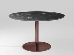 Tavolo da pranzo rotondo in marmo DETROIT | Tavolo in marmo - Detroit