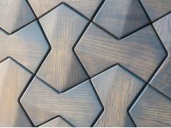 NEXT LEVEL DESIGN STUDIO, DETROIT Rivestimento tridimensionale modulare in legno
