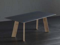 Tavolo da pranzo rettangolare in ferro DETROIT + STREET - ECOLAB 2