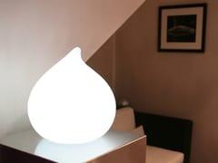 Lampada da tavolo per esterno a LED in plastica con sistema RGBDEW - SMART AND GREEN