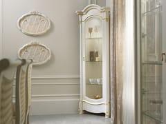Vetrina angolare in legno con illuminazione integrataDIAMANTE   Vetrina angolare - LINEA & CASA +39