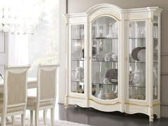 Vetrina in legno con illuminazione integrataDIAMANTE   Vetrina - LINEA & CASA +39