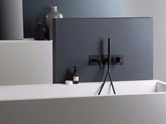 Miscelatore per vasca con deviatore con doccetta DIAMETROTRENTACINQUE | Miscelatore per vasca con piastra - Diametrotrentacinque
