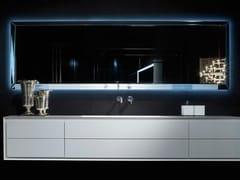 RIFRA, DIAMOND Specchio in vetro con illuminazione integrata per bagno