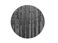 Tappeto rotondo in Lyocell® e lanaDIBBETS BARCODE | Tappeto rotondo - MINOTTI