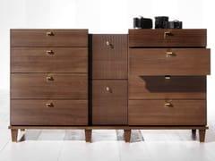 Cassettiera in legno DIMITRI | Cassettiera - Dimitri