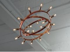 Lampada a sospensione in metallo DIONE | Lampada a sospensione in rame -