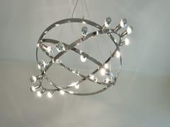 Lampada a sospensione in acciaio inox DIONE | Lampada a sospensione in acciaio inox -
