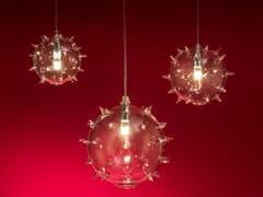 Lampada a sospensione a LED in vetro borosilicatoDIOTOMEA XL - ALBUM ITALIA