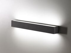 Lampada da parete per esterno a LED a luce diretta e indirettaSLAT | Lampada da parete per esterno a luce diretta e indiretta - AILATI LIGHTS BY ZAFFERANO