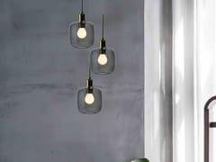 LAMPADA A SOSPENSIONE A LED IN VETRO BOROSILICATODIVA 3 - SP LIGHT AND DESIGN