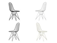 Sedia in metallo DKR - Wire Chair