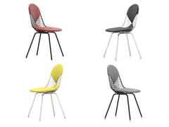 Sedia in acciaio DKX-2 - Wire Chair