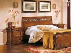 Comodino in legno massello con cassettiDOGI | Comodino - ARVESTYLE