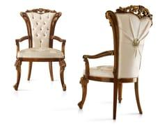 Sedia imbottita in tessuto con braccioliDOLCEVITA | Sedia con braccioli - A.R. ARREDAMENTI