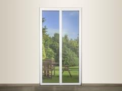 DOMAL, DOMAL AS TB65 Porta-finestra in alluminio e vetro con triplo vetro