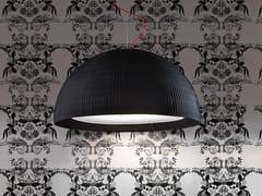 Lampada a sospensione a luce diretta in tessuto in stile moderno DOME | Lampada a sospensione - Tessuti