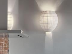 Lampada da parete a luce diretta e indiretta in tessuto DOME | Lampada da parete - Tessuti