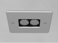 Lampada da soffitto a LED in alluminio a incassoDOMINO 2 - PURALUCE