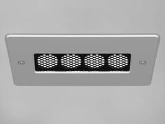 Lampada da soffitto a LED in alluminio a incassoDOMINO 4 - PURALUCE
