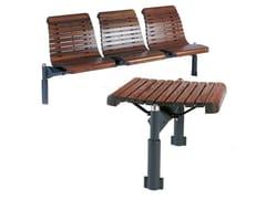Euroform W, DOMINO | Panchina in legno  Panchina in legno