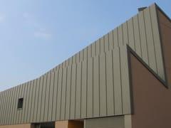 Elementi per facciate e copertureDoppia Aggraffatura in alluminio - SACAP