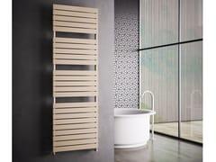 Scaldasalviette ad acqua calda verticale in acciaio al carbonio a parete DORY | Scaldasalviette ad acqua calda - Scaldasalviette