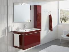 Mobile lavanderia sospeso con lavatoioDOUBLE 02 - BMT