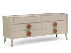 Cassettiera in legnoDOUBLE N19 - SCAPPINI & C. CLASSIC FURNITURE