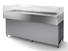 Vetrina refrigerata in acciaio inox da banconeDPN80-C - ABACO BY ISA