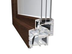 Diquigiovanni, DQG 85 ENERGETO ALU Finestra in alluminio e PVC con triplo vetro