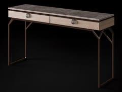 Consolle rettangolare in marmo e metallo con cassettiDRAGONFLY   Consolle - CIAC-EXPORT
