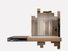 Consolle / specchio in legno e vetroDRAMA - MORADA - HAUTE FURNITURE BOUTIQUE