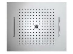 Soffione doccia a soffitto in acciaio inox Dream 4 Sprays - Dream